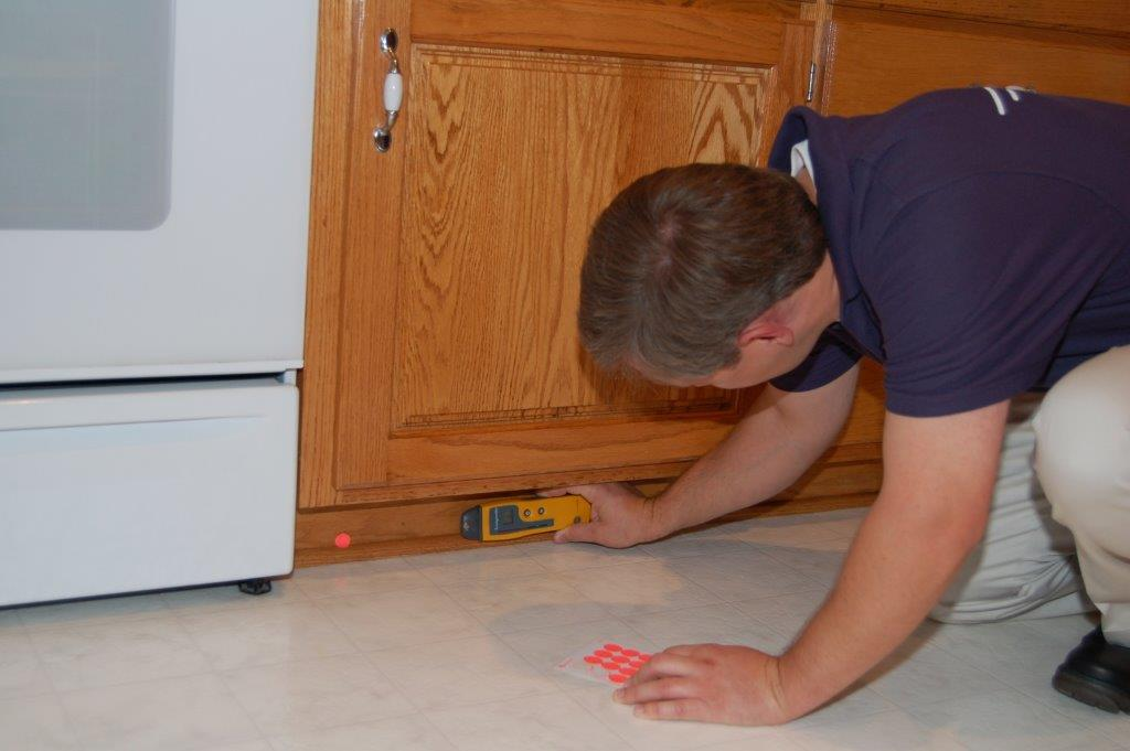 Install cabinet drying system. & Cabinet Drying | Water Damaged Cabinet Repair Kansas City